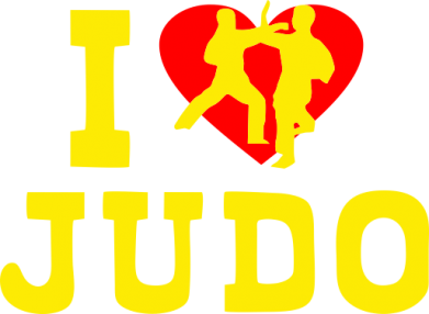 Принт Футболка I love Judo - FatLine