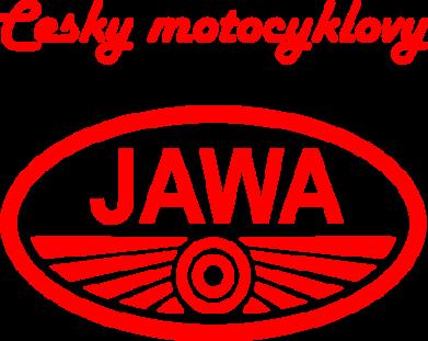 Принт Футболка Java Cesky Motocyclovy - FatLine