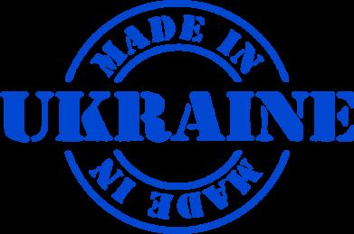 Принт Женская футболка Made in Ukraine - FatLine