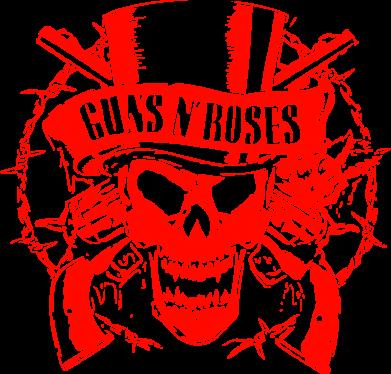 Принт Кружка 320ml Guns n' Roses Logo - FatLine