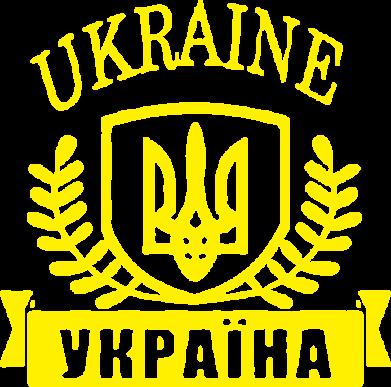 Принт Футболка с длинным рукавом Ukraine Украина - FatLine