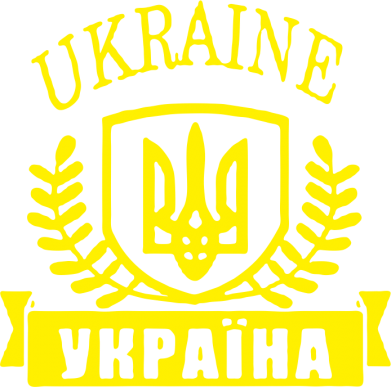 Принт Футболка Поло Ukraine Украина - FatLine