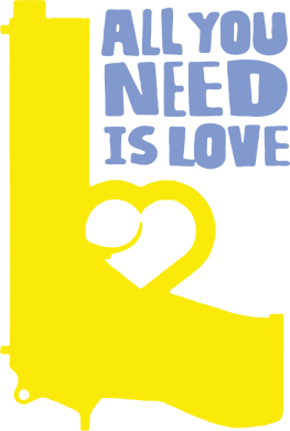 Принт Толстовка All you need is love (Ukraine) - FatLine