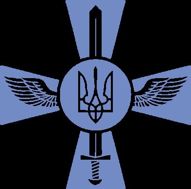 Принт Подушка Меч, крила та герб - FatLine
