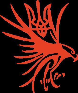 Принт Мужская майка Сокіл та герб України - FatLine