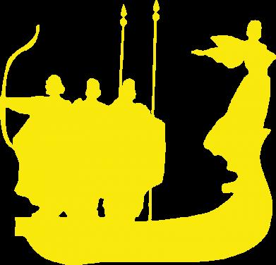 Принт Женская майка Кий,Щек,Хорив - FatLine