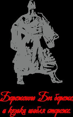 Принт Подушка Береженого Бог береже, а козака шабля стереже - FatLine