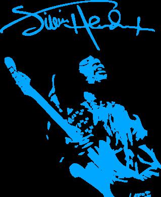 Принт Сумка Jimi Hendrix афтограф - FatLine