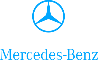 Принт Mercedes Benz logo - FatLine