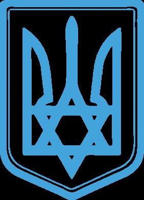 Принт Мужская майка Звезда Давида+герб - FatLine