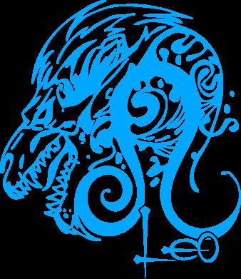 Принт Коврик для мыши Leo (Лев) - FatLine