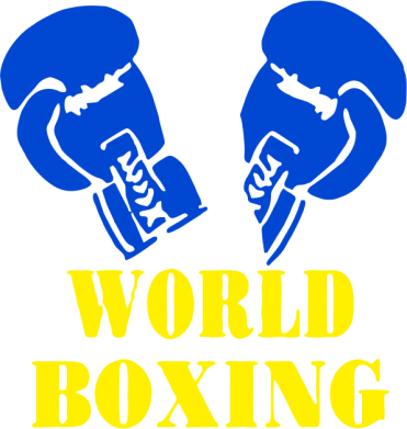 Принт Футболка Поло World Boxing - FatLine