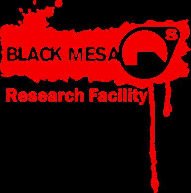 Принт Подушка Black Mesa - FatLine
