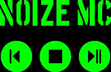 Принт Женская майка Noize MC player - FatLine