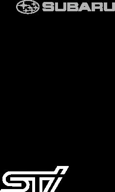 Принт Мужская майка Subaru STI лого - FatLine