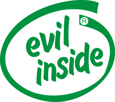 Принт Толстовка Evil Inside - FatLine