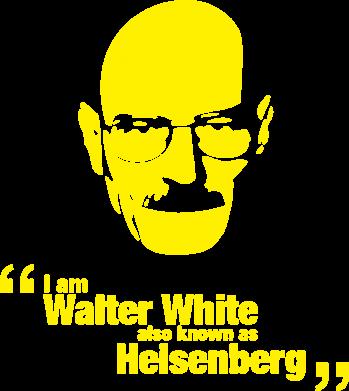 Принт Сумка i am walter white also known as heisenberg - FatLine