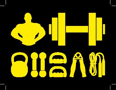 Принт Толстовка Набор спортсмена - FatLine
