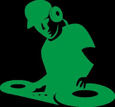 Принт Наклейка Dj Logo - FatLine