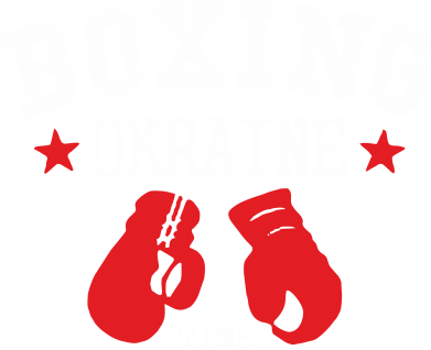 Принт Футболка Boxing Ukraine - FatLine