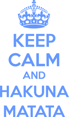 Принт Сумка KEEP CALM and HAKUNA MATATA - FatLine