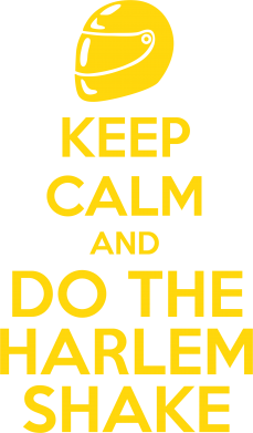 Принт Реглан KEEP CALM and DO THE HARLEM SHAKE - FatLine