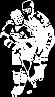 Принт Женская майка Хоккеисты - FatLine