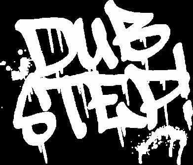 Принт Женская футболка поло Dub Step Граффити - FatLine