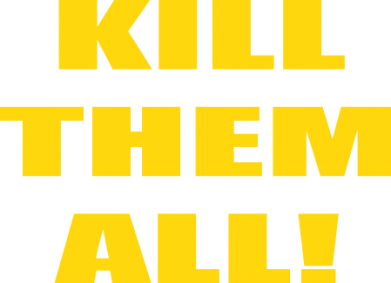 Принт Шапка Kill them all! - FatLine