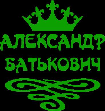 Принт Мужская футболка  с V-образным вырезом Александр Батькович - FatLine