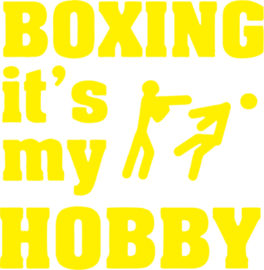 Принт Сумка Boxing is my hobby - FatLine