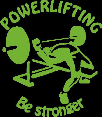Принт Сумка Powerlifting be Stronger - FatLine