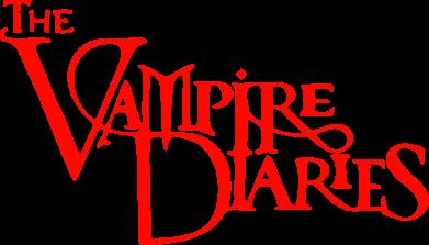 Принт Коврик для мыши Дневники Вампира Лого - FatLine