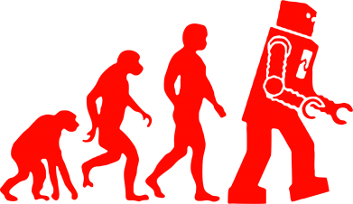Принт Футболка Поло The Bing Bang theory Evolution - FatLine