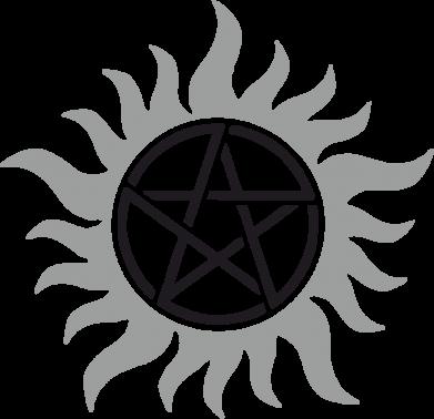 Принт Сумка Сверхъестественное Star - FatLine