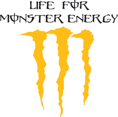Принт Подушка Life For Monster Energy - FatLine