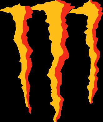 Принт Коврик для мыши Monster Stripes - FatLine