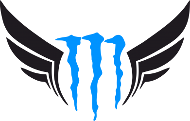 Принт Штаны Monster Energy Крылья - FatLine