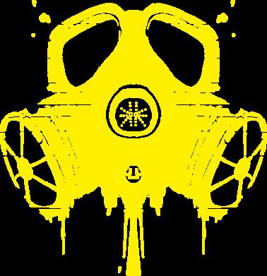 Принт Мужская толстовка The Chemodan Clan противогаз, Фото № 1 - FatLine