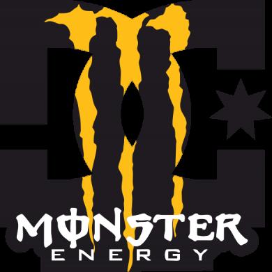 Принт Коврик для мыши Monster Energy DC - FatLine