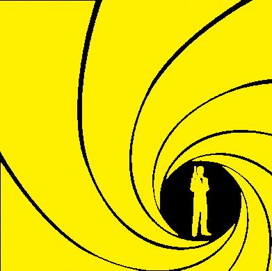 Принт Женская майка Agent 007 - FatLine