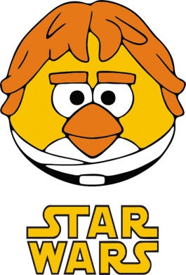 Принт Футболка Star Wars Bird - FatLine