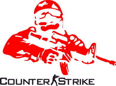 Принт Подушка Counter Strike Player - FatLine