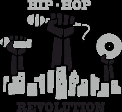Принт Женская майка Hip-hop revolution - FatLine