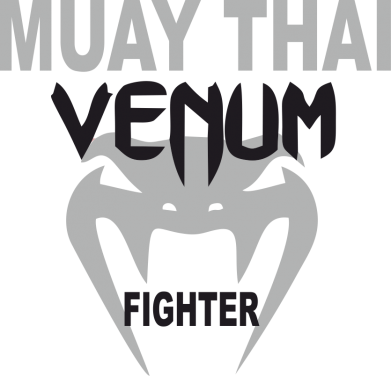 Принт Футболка Поло Muay Thai Venum Fighter - FatLine