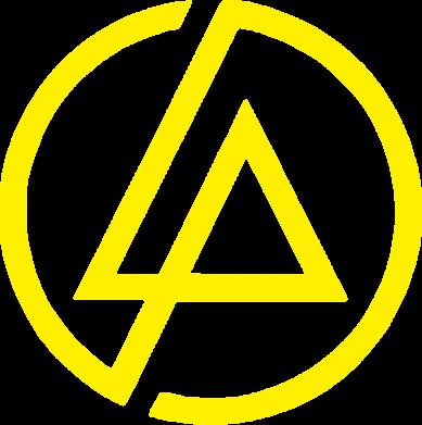 Принт Женская футболка поло LP logo - FatLine