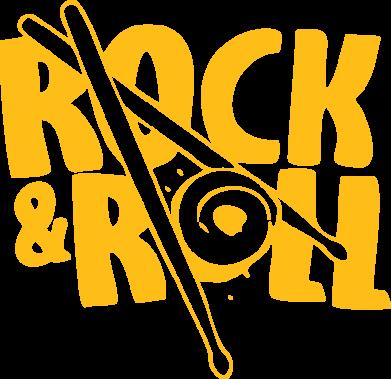 Принт Толстовка Rock&Roll - FatLine