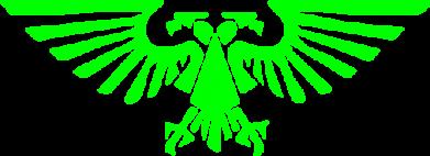 Принт Мужская майка Imprerium Warhammer 40000 - FatLine