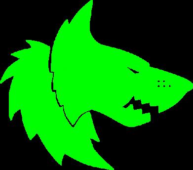 Принт Женская футболка Warhammer Space Wolf - FatLine