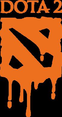 Принт Коврик для мыши Dota 2 Logo - FatLine